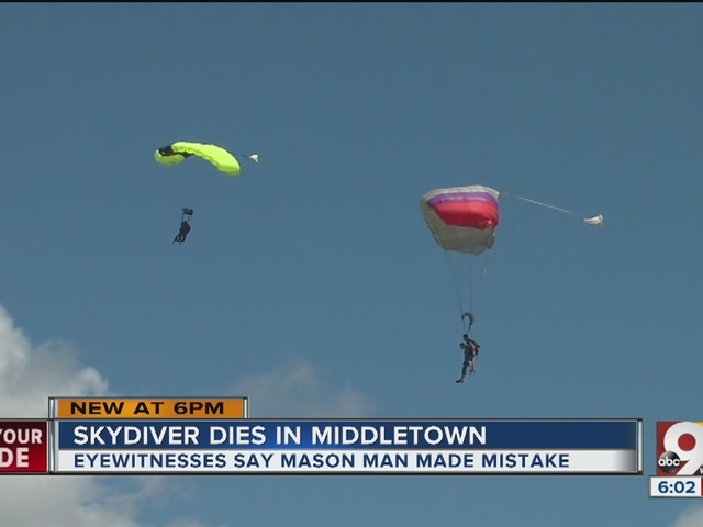 Skydiver killed Sunday had first solo jump in May, brother says