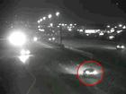 Video shows wrong-way driver just before crash