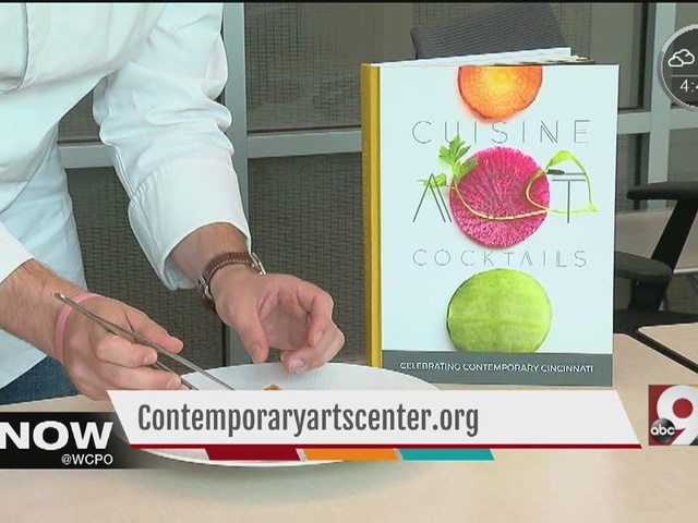 Contemporary Arts Center unveils cookbook inspired by art