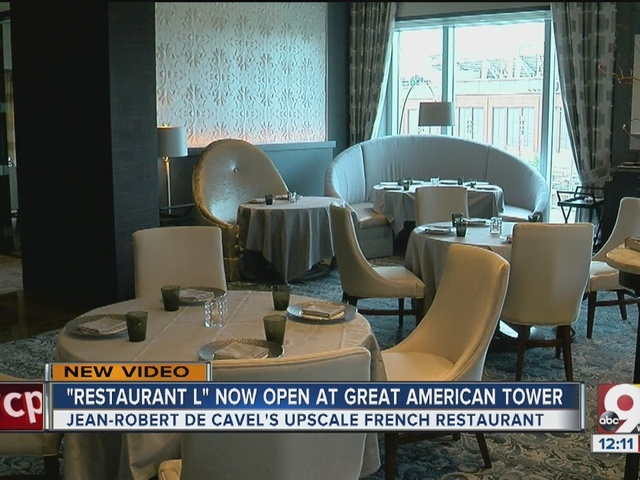 Jean-Robert's new Restaurant L opens at Great American Tower