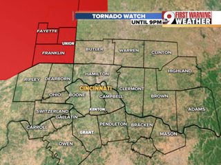 Tornado Watch issued for parts of Indiana