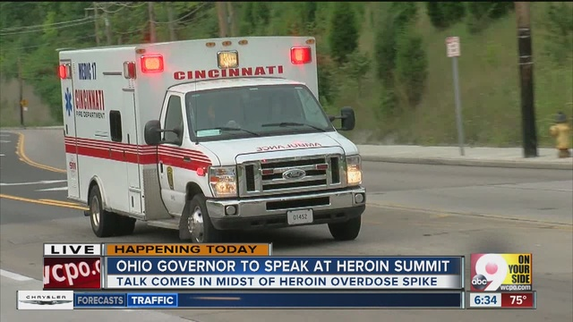 Cincinnati first responders treat 30 heroin overdoses in one day