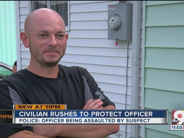 Neighborhood 'hero' steps in to help Blanchester police officer…