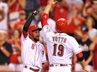REDS PODCAST: Votto! Hamilton! Tebow?
