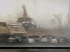 WATCH: Moment tornado leveled Indiana Starbucks