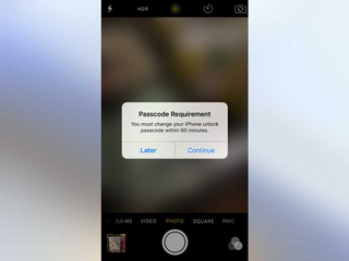 Strange iPhone passcode popup confuses users