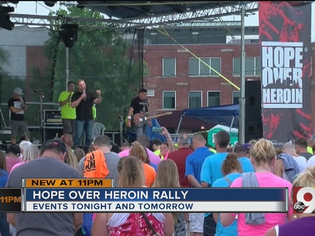 Hope Over Heroin hosting rallies in Norwood with free food, music,…