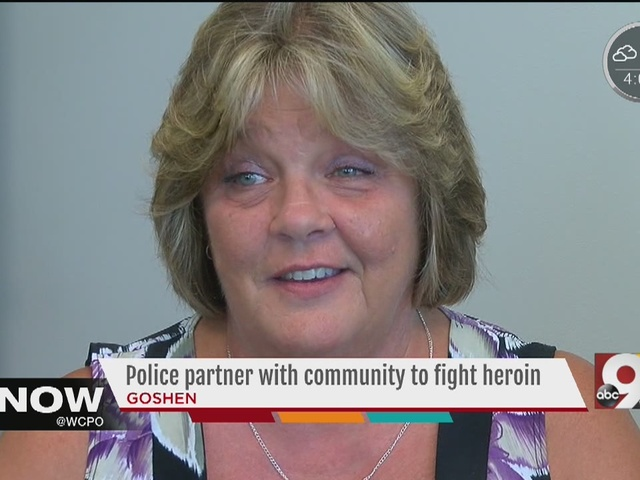 Police partner with community to fight heroin