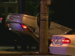 PD: Uber driver's arm amputated after crash