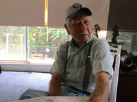 What's the secret to longevity? Ask WWII vet