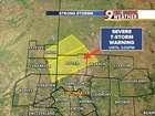 Severe Thunderstorm Warning in several counties