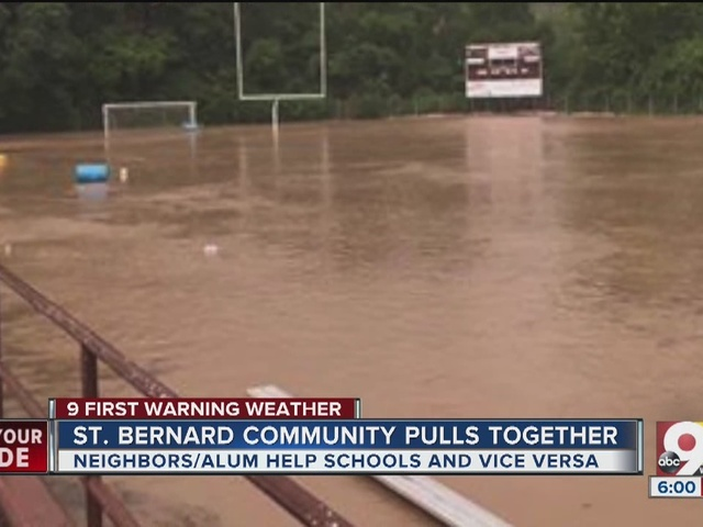 Community pitches in to help after  flash floods damage schools