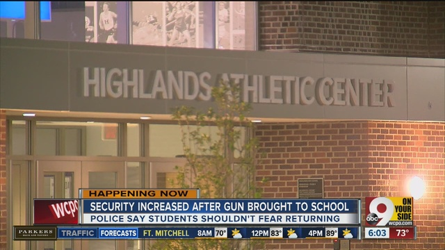 Highlands student brings gun to school