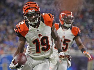 Bengals cut longtime WR, punt returner Tate
