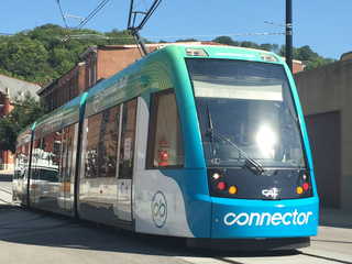 Check out the streetcar's new look