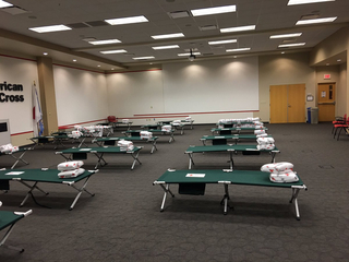 Red Cross opens shelter for flood victims