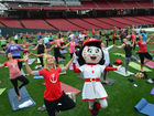 Calling all yogis: Get to GABP this weekend