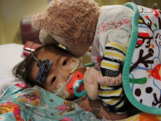 Hope for Suzu: Little girl fights for her life