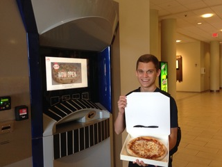 Taste tests are in for XU's Pizza ATM