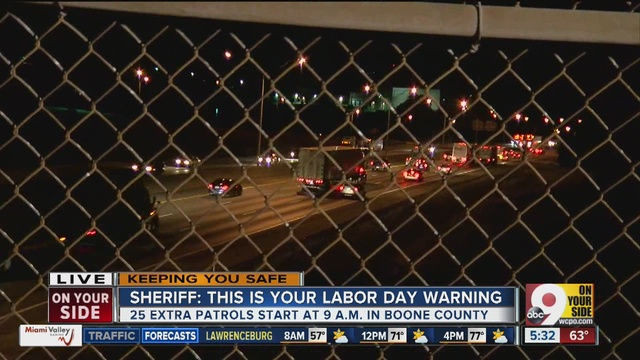 Highway Patrol Urges Safety In Labor Day Weekend Travel