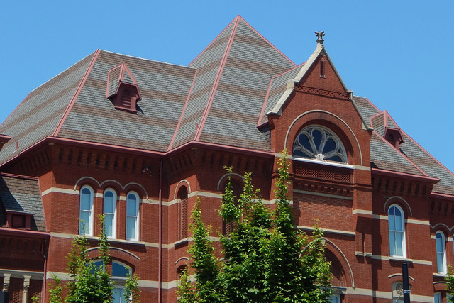 These photos will change your view of music hall gallery for Mansard roof section