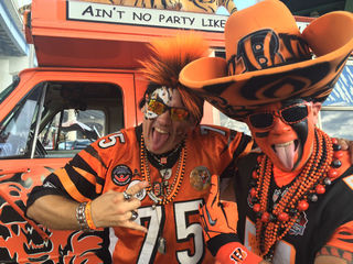 Bengals fans' ticket to rip-roaring tailgating