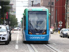 How much has developed along streetcar route?
