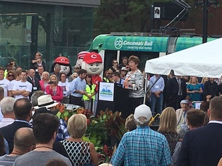 Supporters, opponents welcome the streetcar