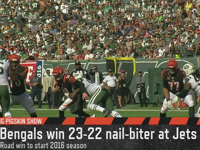 Cincinnati Bengals coach Marvin Lewis credits win against Jets to…