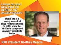 Get to know NKU President Geoffrey Mearns