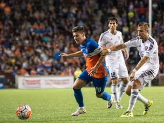 Has a first-year club ever won the USL title?