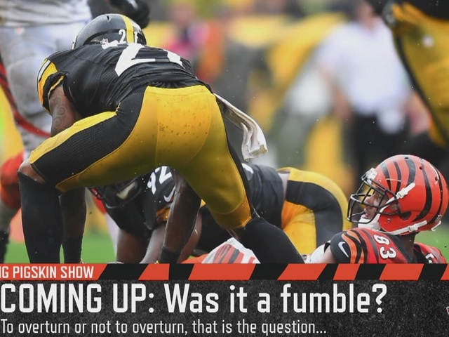 Was the Cincinnati Bengals fumble in the 4th quarter against the…