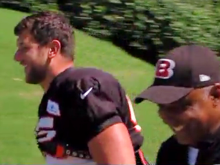 Eifert practices, but playing is question mark