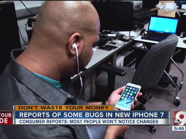 Four reported bugs with Apple's iPhone 7