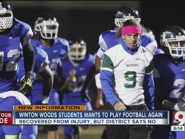 Should high school football players recovered from serious injury be…