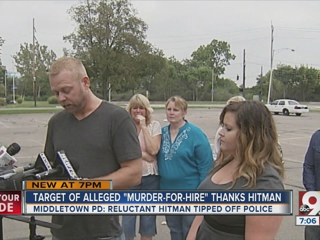 Target of alleged murder-for-hire thanks hitman