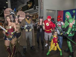 GALLERY: Cincinnati Comic Expo draws thousands