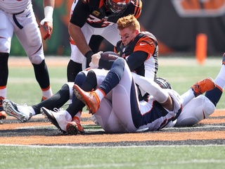 Bengals fall to Broncos 29-17 in home opener