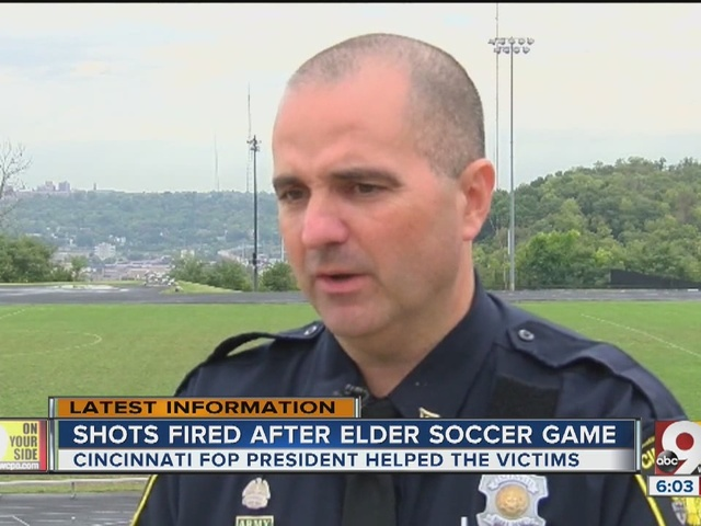 Cincinnati FOP president stepped in to help shooting victims