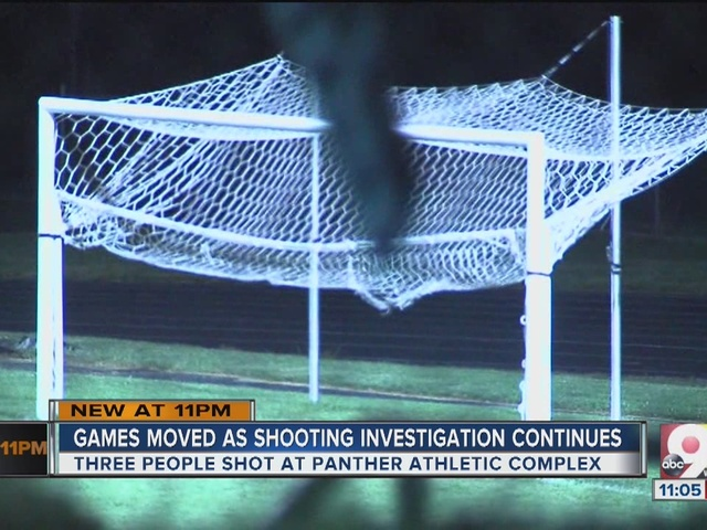 Games moved as shooting investigation continues