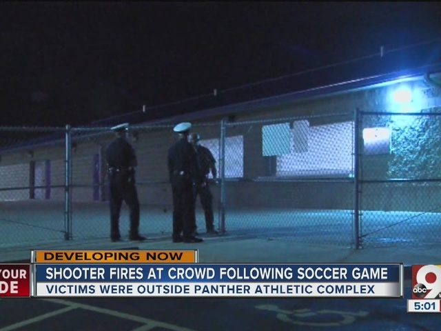 Shooter fires at crowd following soccer game