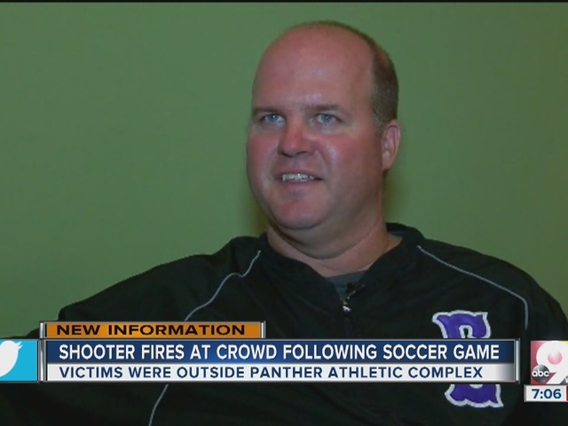 Shooters fires on crowd after high school soccer game