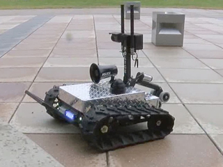 NKU students build 'SWAT bot' for Newport police