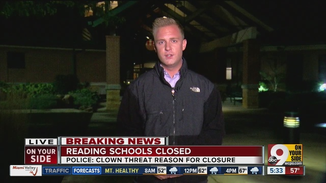 Clown attack forces schools in Reading to cancel Friday's classes ...