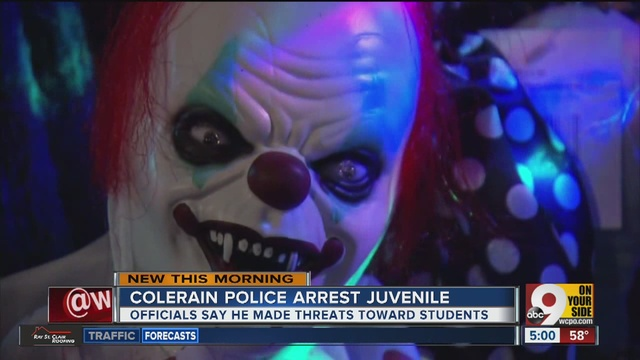 Southwest Ohio district closes schools after reported clown attack
