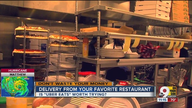 does uber eats really deliver hot food fast   story