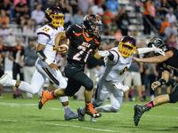 High school football rankings: Week 8