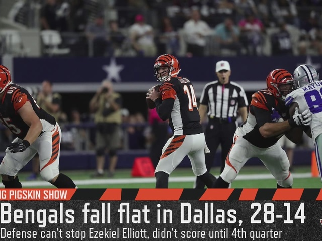 Cincinnati Bengals struggled against Dallas' zone defense - Flying…