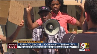 Panelists discuss upcoming Ray Tensing trial at public forum - Story