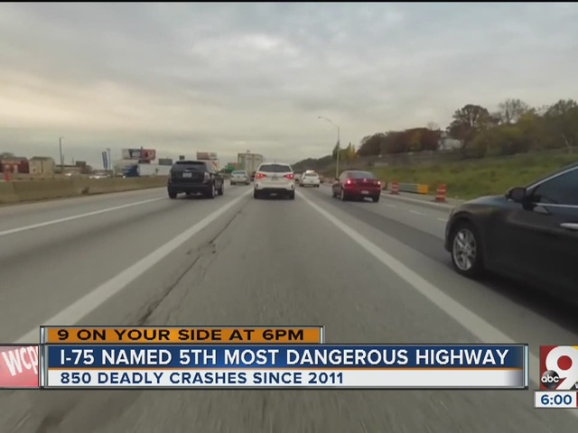 I-75 ranked among deadliest highways in U S , report says